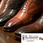 Nick V. talks with Peter Agati, Paul Stuart's Director of Footwear