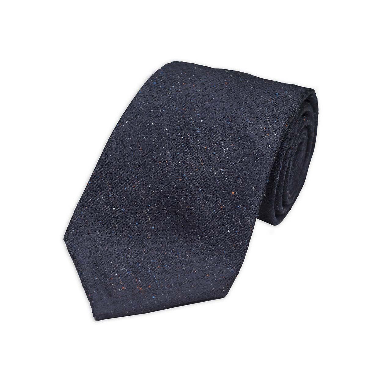 kydos styleforum holiday office party silk tweed tie