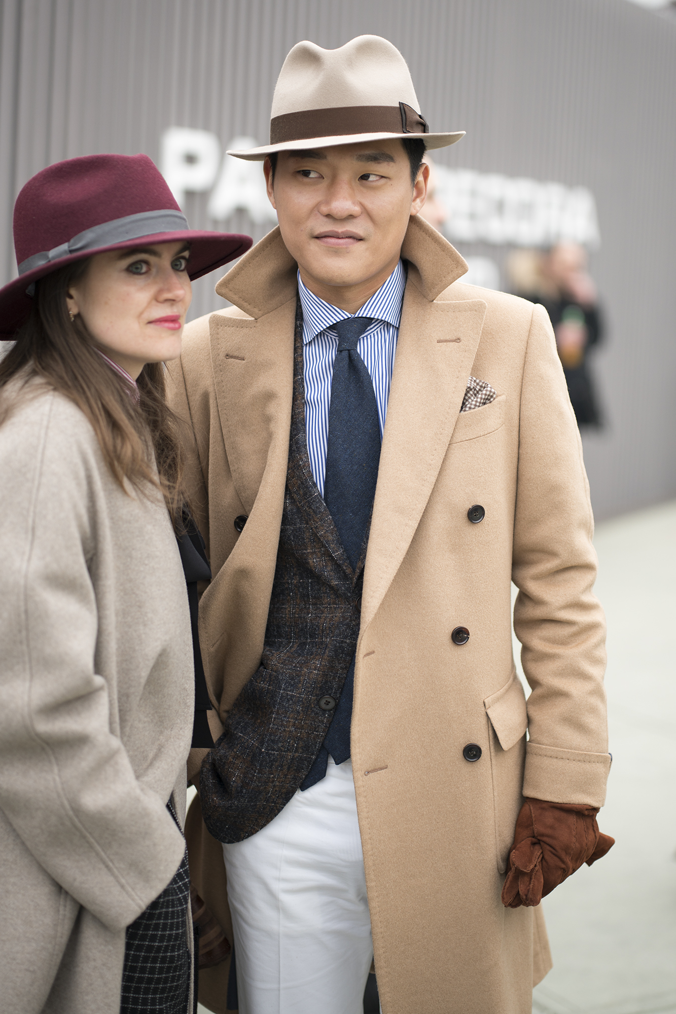 streetstyle from Pitti Uomo 91 day 3