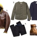 What to Wear With a Shearling Jacket