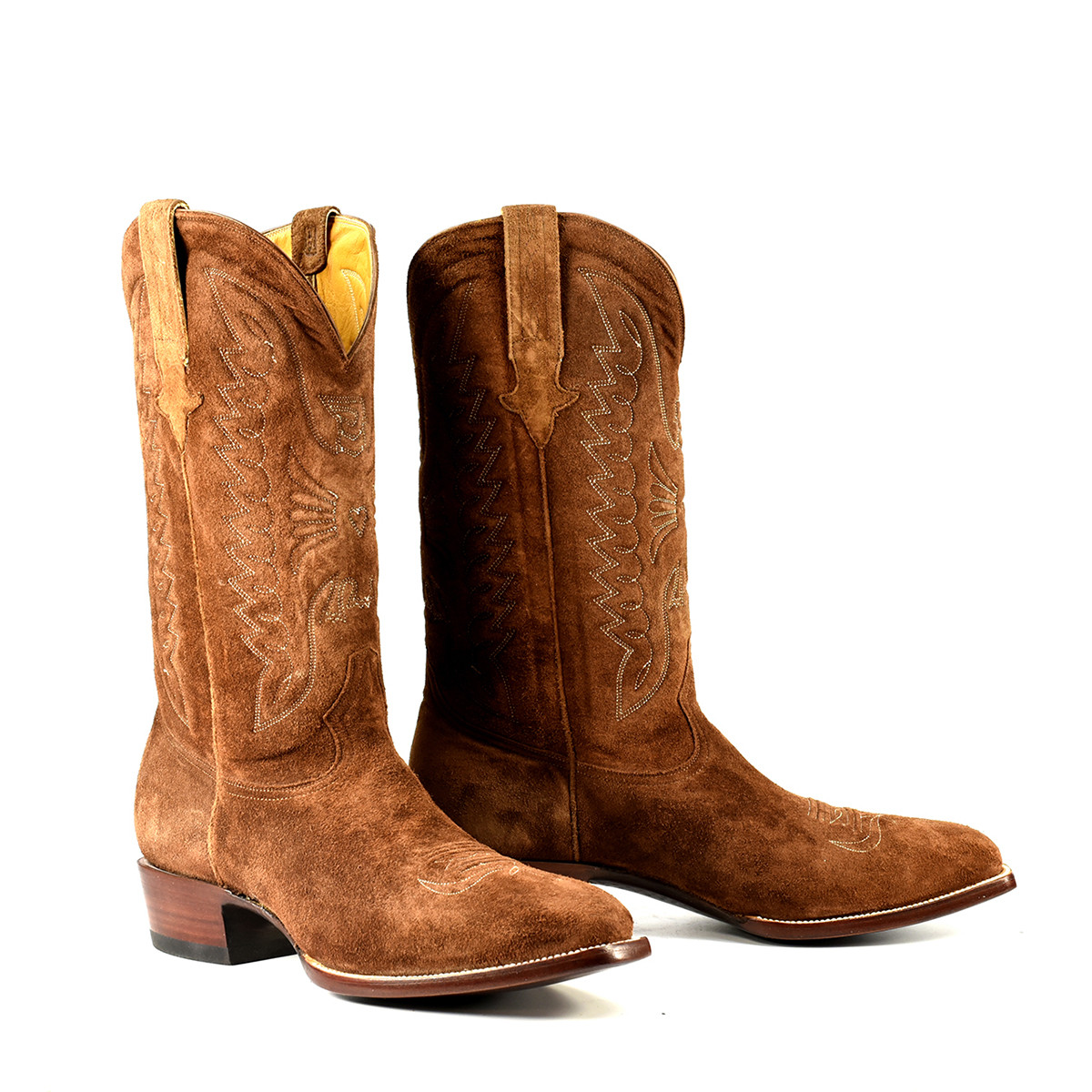 western style zip boots
