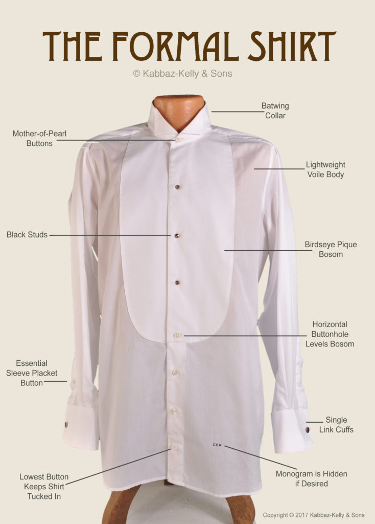 The Anatomy Of A Formal Shirt The Styleforum Journal