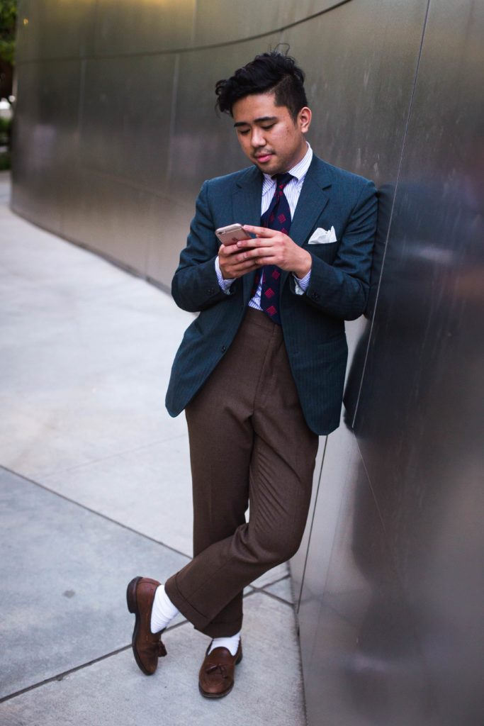 thrifted trousers high rise tailor thrifting menswear thrifted menswear guide to thrifting styleforum