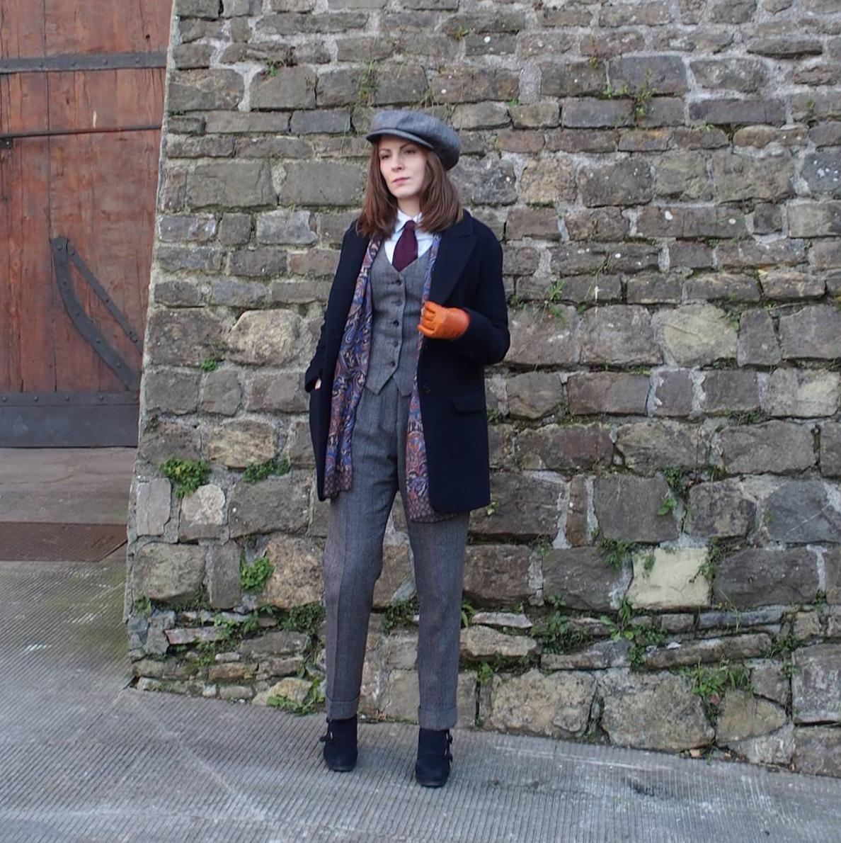 Anu Elizabeth on menswear for women styleforum women in menswear