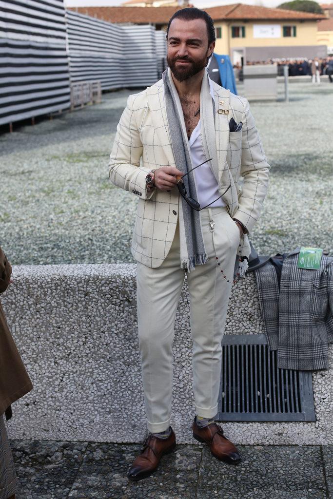 pitti uomo 93 streetstyle outfits menswear gq
