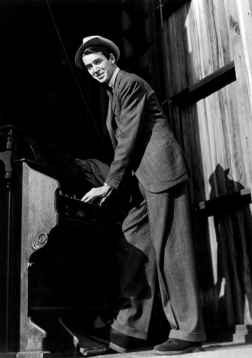 jimmy stewart style inspiration menswear suit