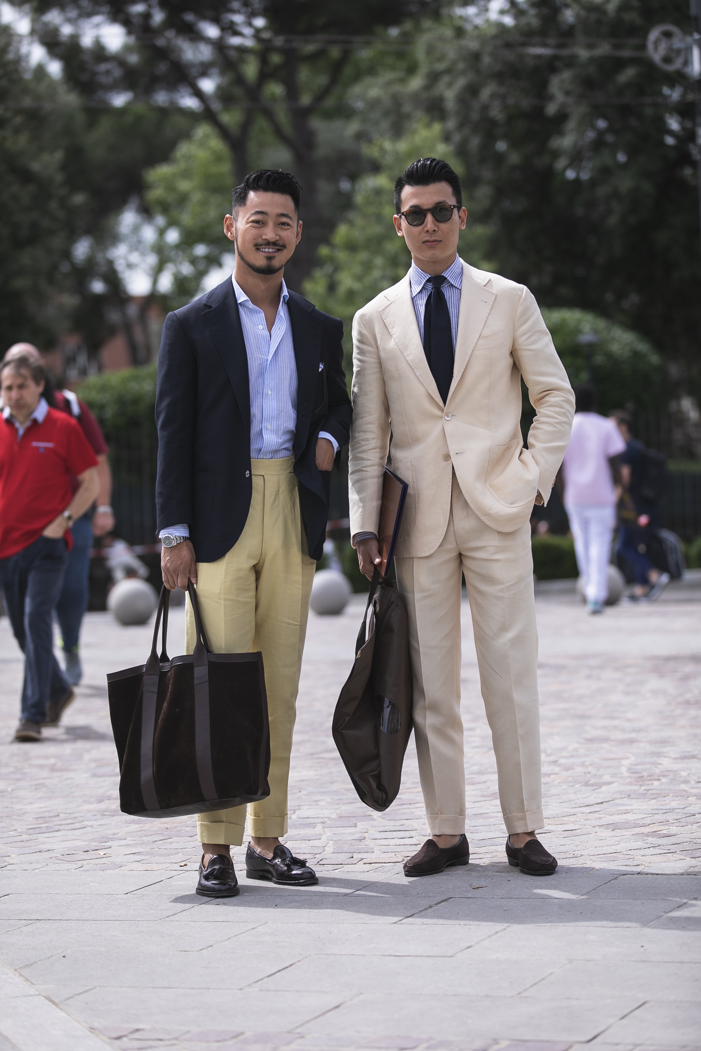 pitti uomo 94 streetstyle suit best outfit men trends