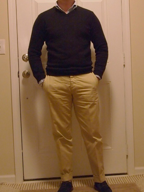 business casual look outfit