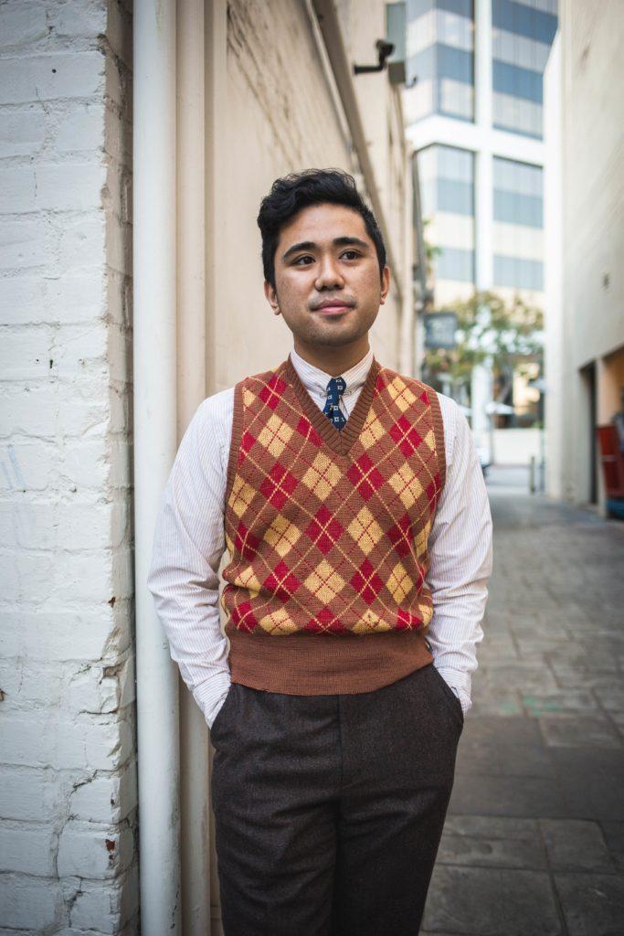 1940's sweater vest.