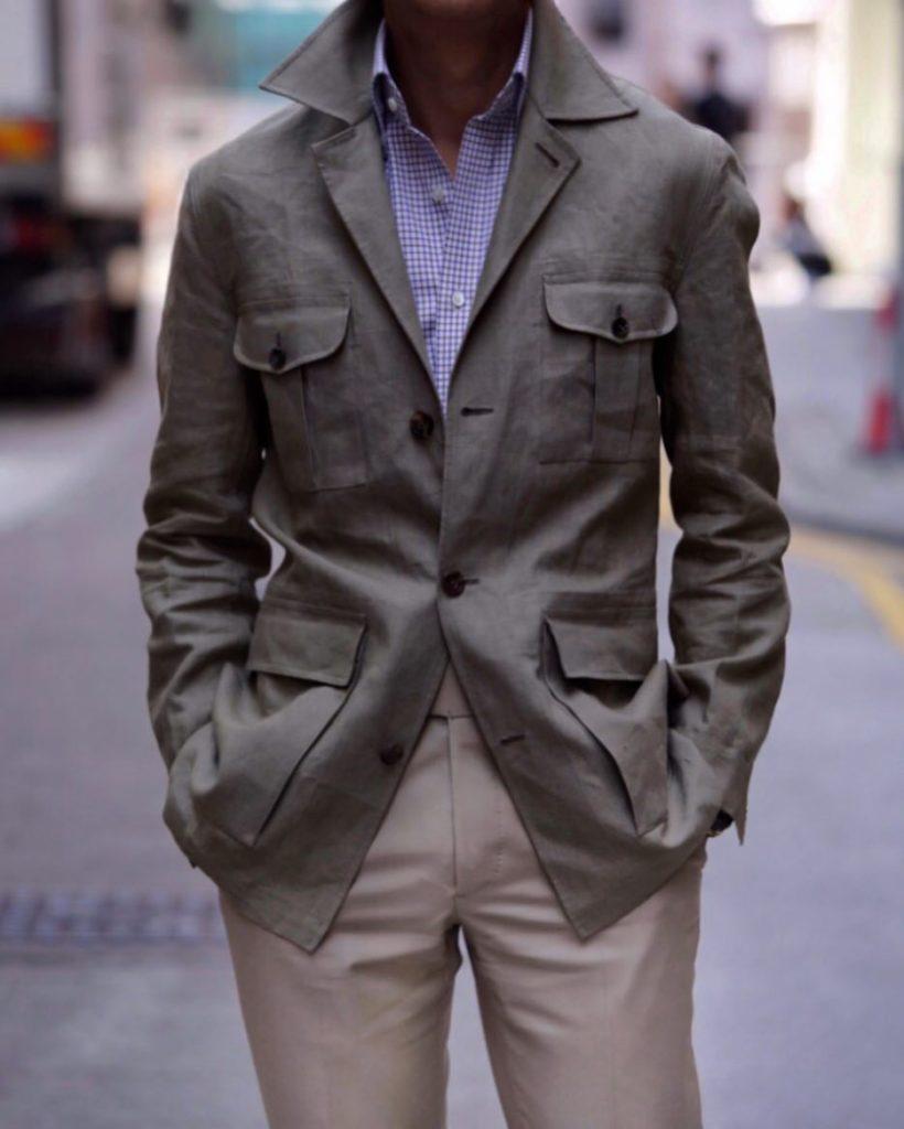 Prologue HK safari jacket