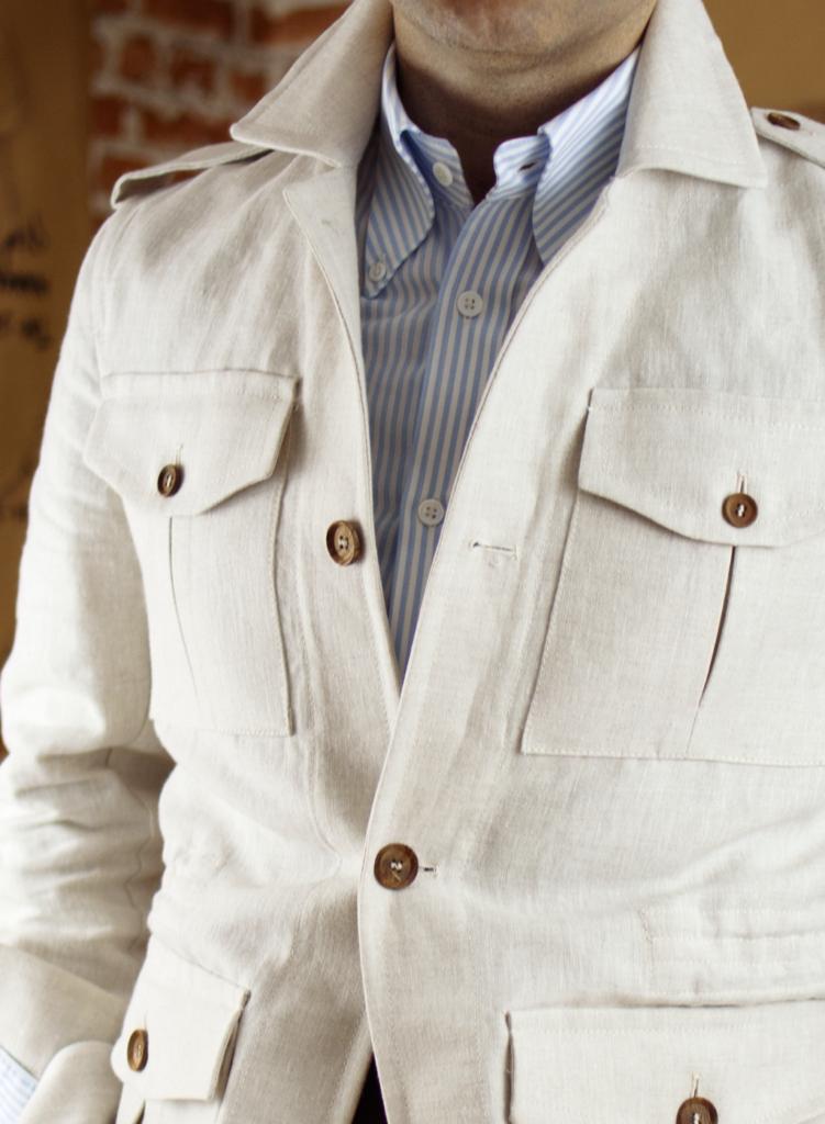 Lopez Aragon safari jacket review