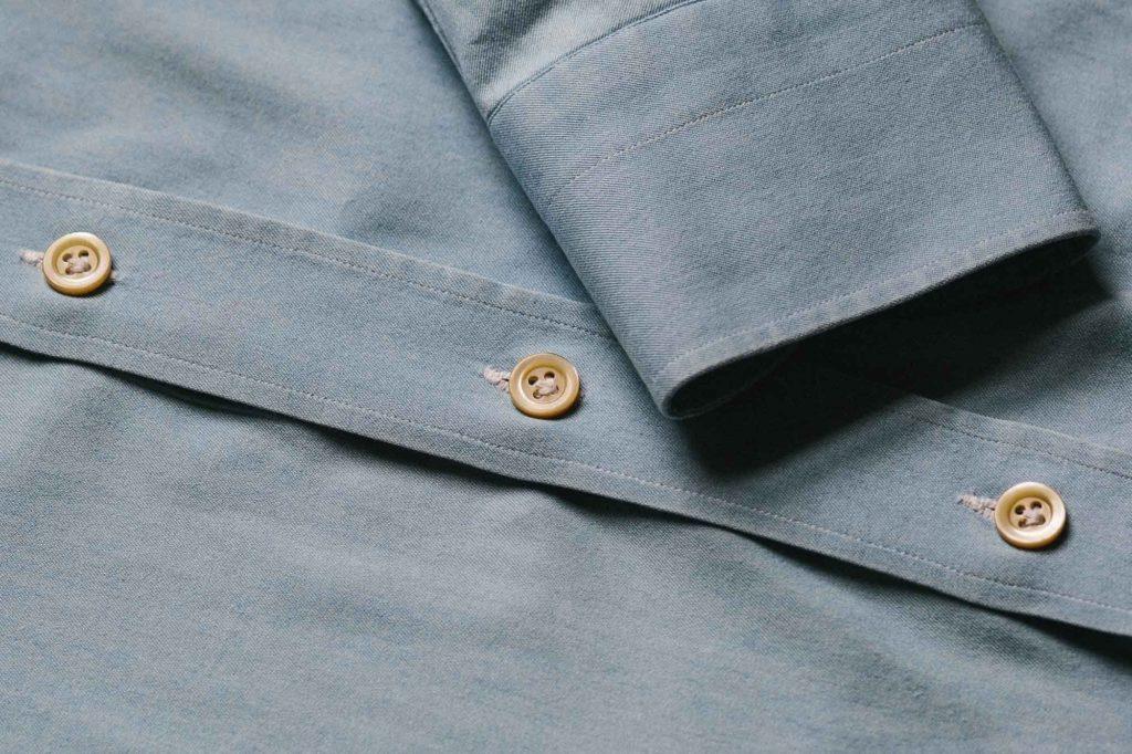 denim shirt buttons